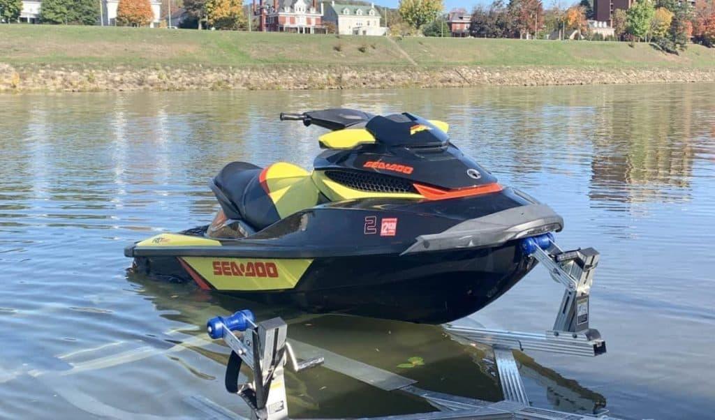 Sea-Doo RXT uses premium 93 octane fuel