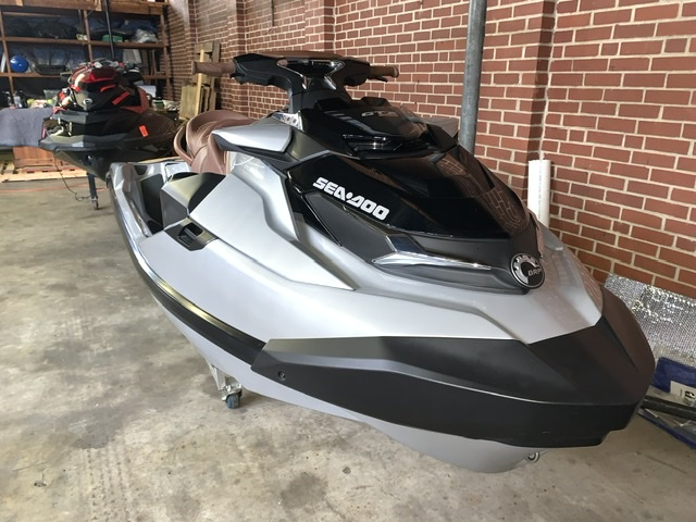 Brown and White Sea Doo GTX 300 Limited PWC