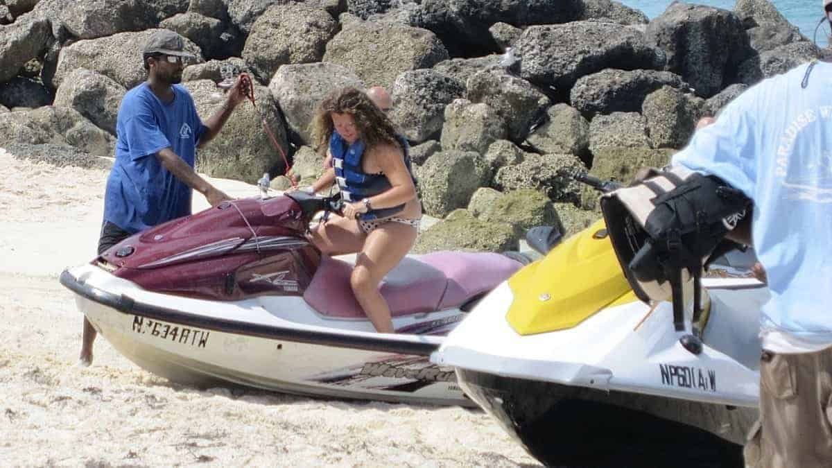 Jet ski rental business Bahamas