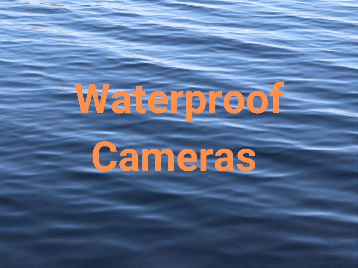 Title says waterproof cameras