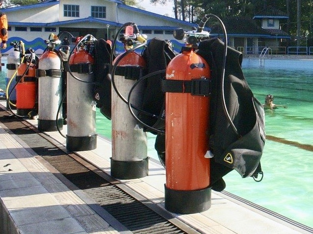 Scuba tanks need to be inspected regularly by law and for safety