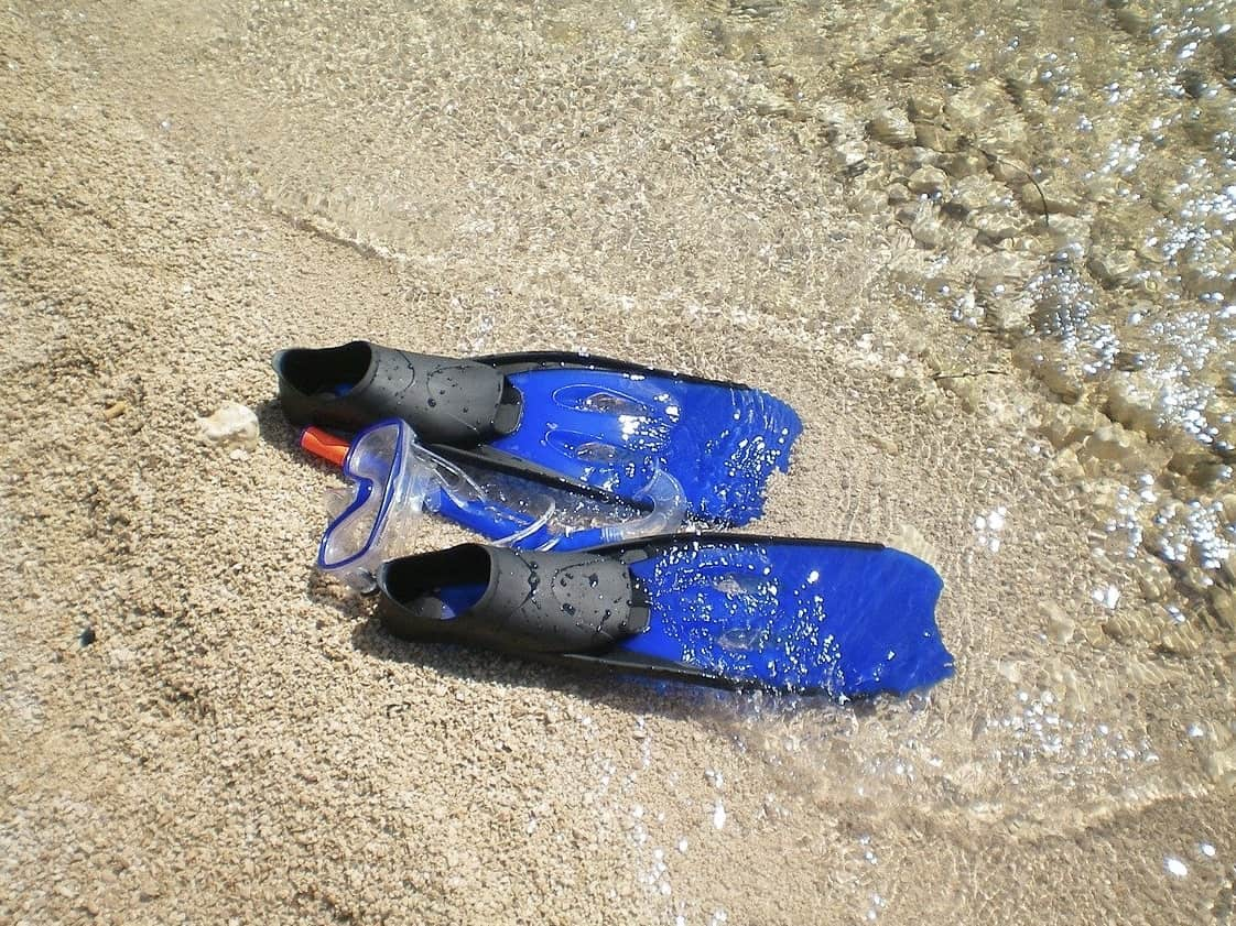 Choose the right type of fins for snorkeling to make if safer and more fun