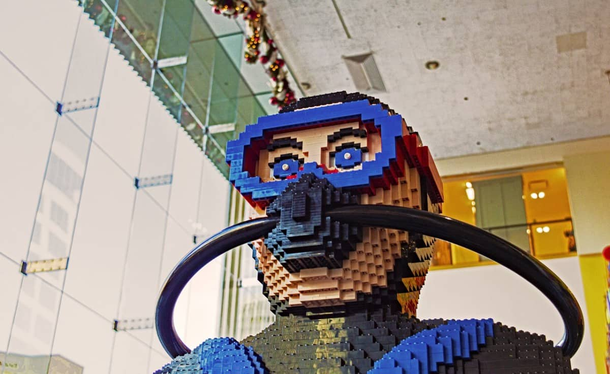 LEGO Scuba and snorkeling mask
