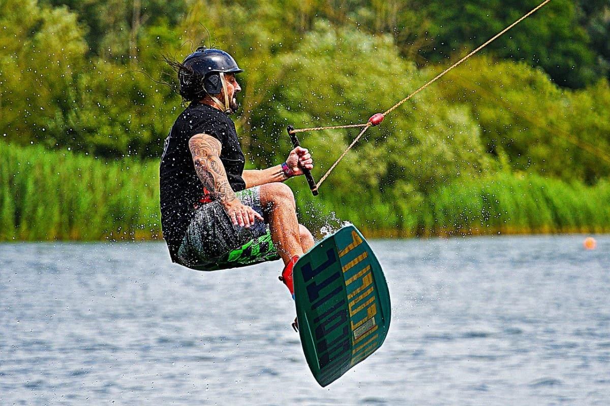 Wakeboard Kitesurfer